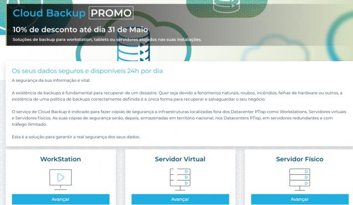 Cloud Backups: Faça backups consistentes, seguros e em Portugal