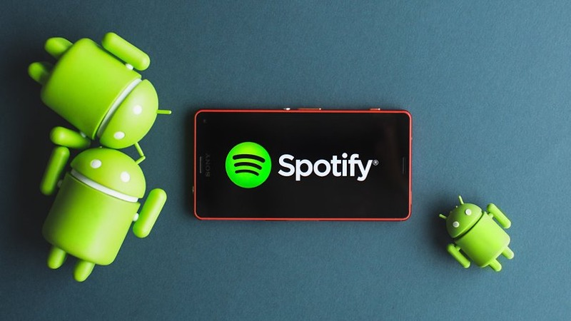Spotify Android temporizador música app