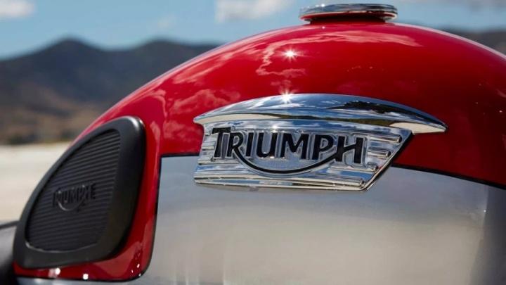 Triumph mota elétrica desenvolvimento