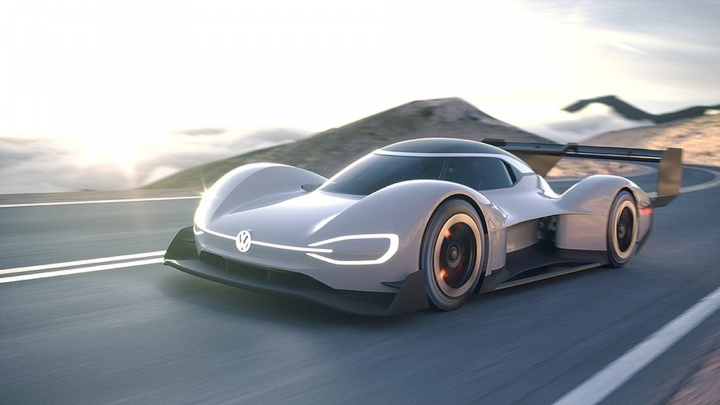 Imagem Volkswagen ID R que dá visibilidade ao ID.3