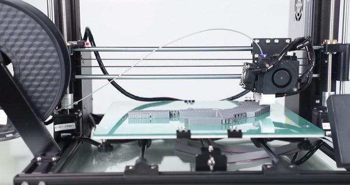 Seja criativo, tenha a sua própria impressora 3D