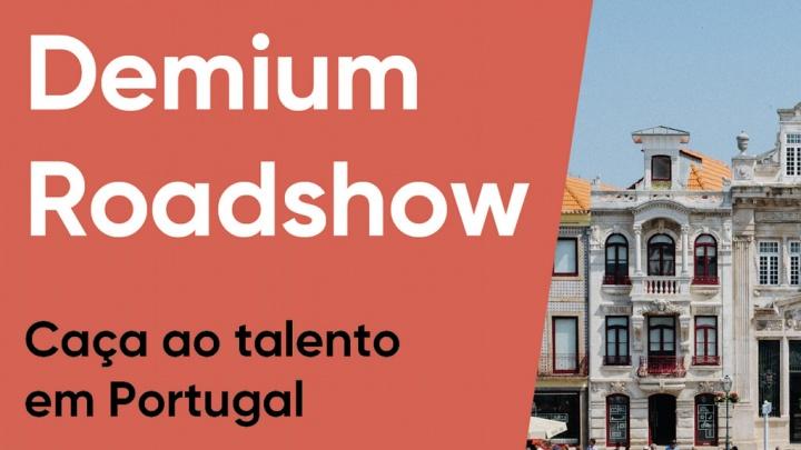 Lisboa, Porto, Aveiro, Coimbra e Cascais na rota do Demium Roadshow
