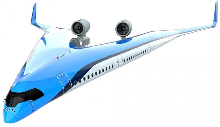 Flyng-V: O avião que pode levar os passageiros nas asas