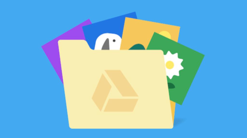 Google Fotos Google Drive apps