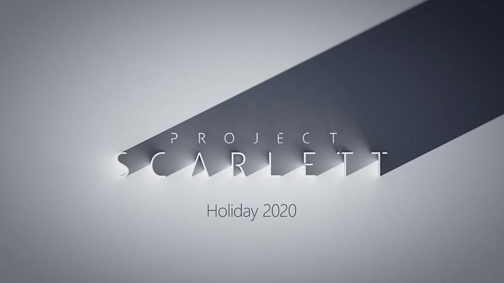 Project Scarlett Xbox jogos consola Microsoft