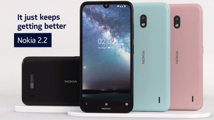 Android One smartphone Google Nokia 2.2