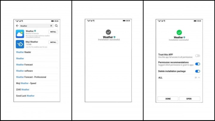 Oak OS Huawei Android sistema operativo