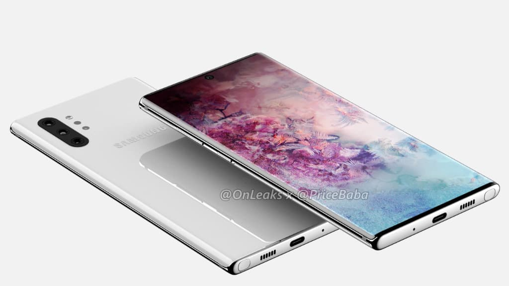 Samsung Galaxy Note 10 Galaxy Note10+, smartphone Android