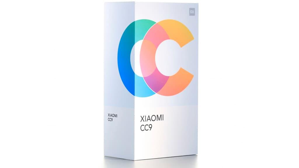 Xiaomi Mi CC9 smartphone Android