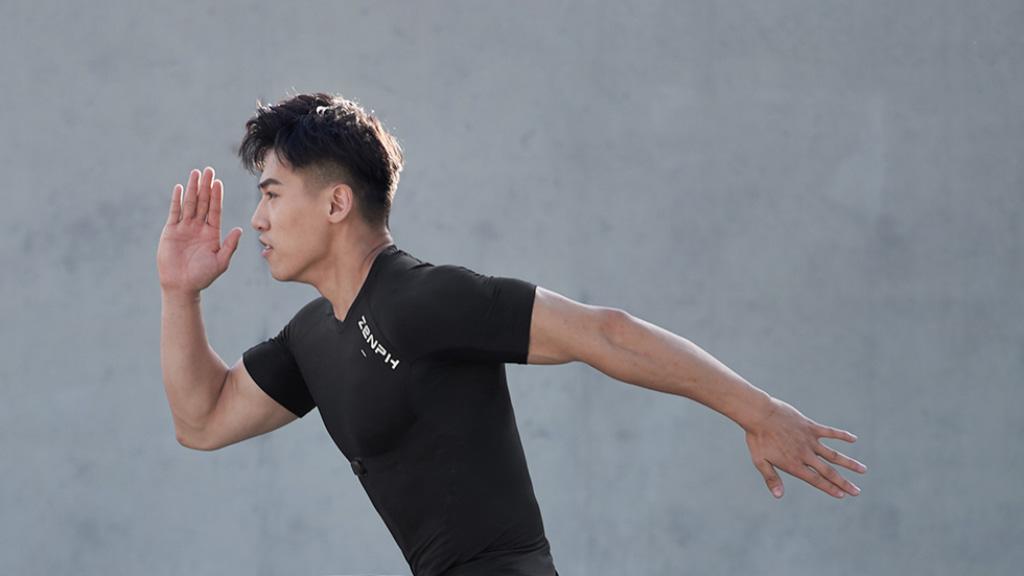 Xiaomi Zenph t-shirt inteligente ritmo cardíaco