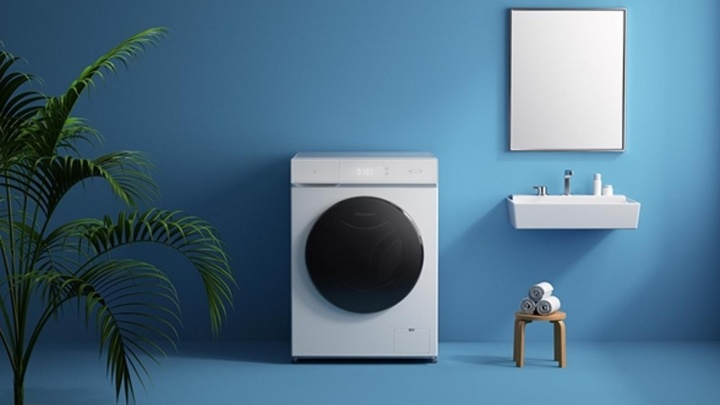 Mijia: A máquina de lavar e secar roupa inteligente da Xiaomi
