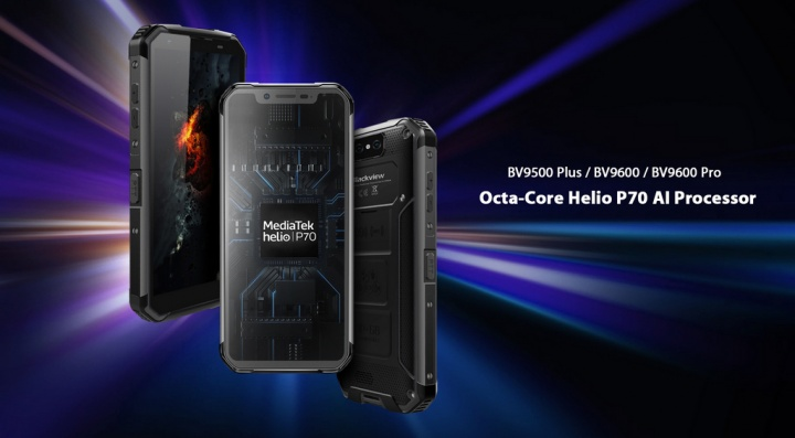 Blackview BV9500 e BV9600 Pro recebem novo processador a Android 9.0