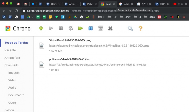 Chrono: O seus downloads vão voar no Google Chrome