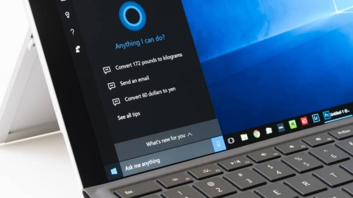 "Cortana Microsoft Windows 10 assistente virtual"" width="