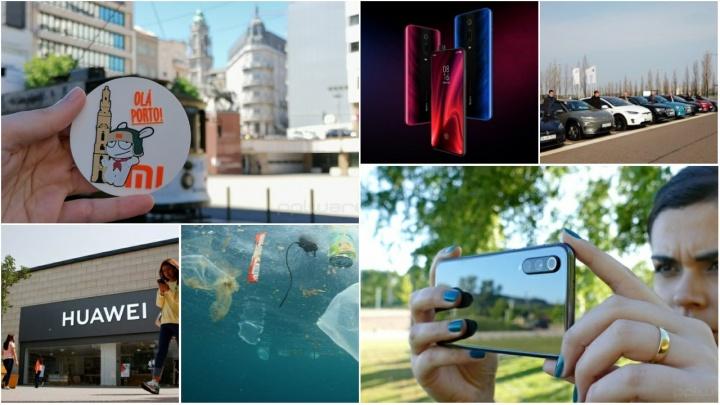 Destaques tecnológicos: falámos de estreia oficial da Xiaomi em Portugal, de vários lançamentos de smartphones dessa marca, de algumas novidades na Apple e na Huawei
