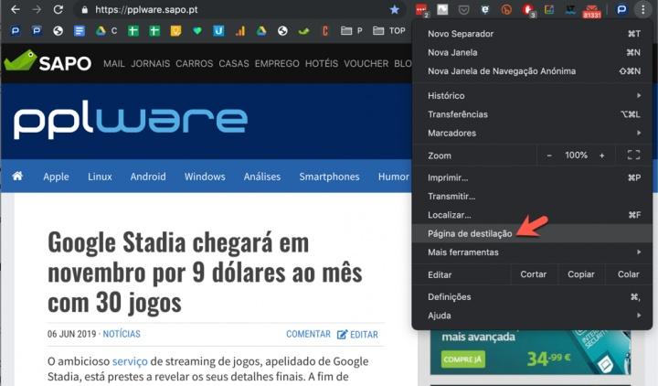 Google Chrome 75 traz modo de leitura escondido! Saiba como usar