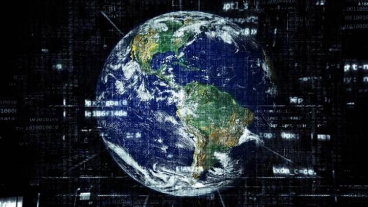 Internet planeta população ligada acesso