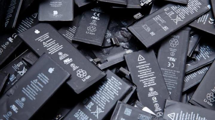 Apple iPhone bateria troca oficiais