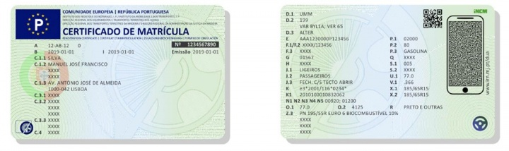 Portugal: Conheça já o novo Documento Único Automóvel (livrete do carro)