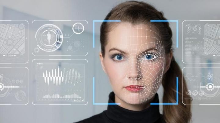 reconhecimento facial scan rosto