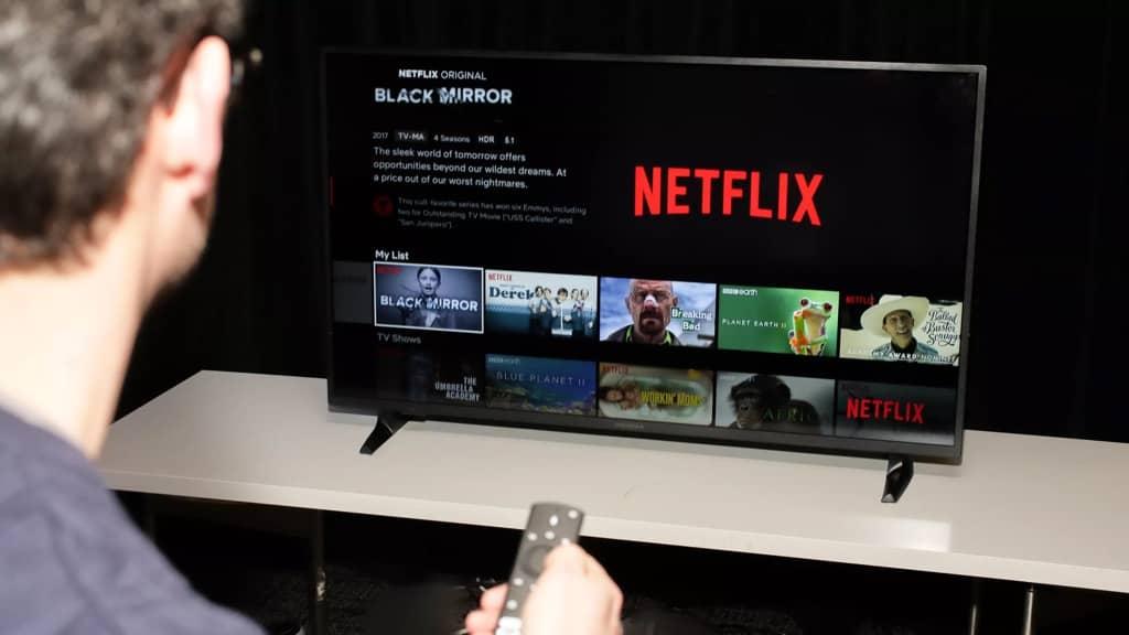 Netflix televisão streaming