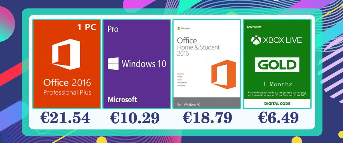 Windows, Office 2019 e jogos: oportunidade de aquisição de chaves