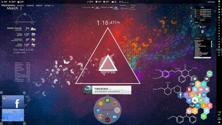 Rainmeter: O seu Windows 10 vai ficar irreconhecivelmente bonito