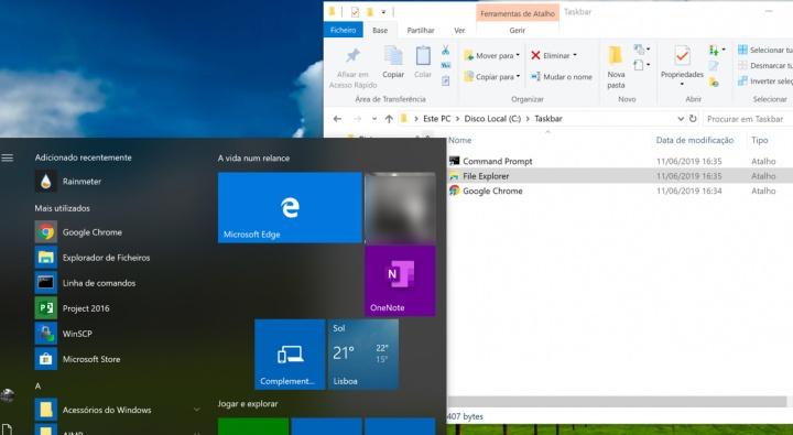 Windows 10: Saiba como centrar os ícones da barra de tarefas