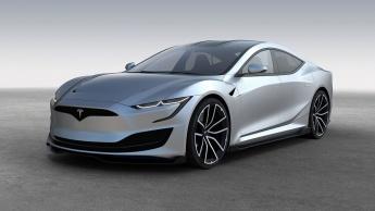 Imagem Tesla Model S com nova imagem e novas baterias para fazer mais quilómetros