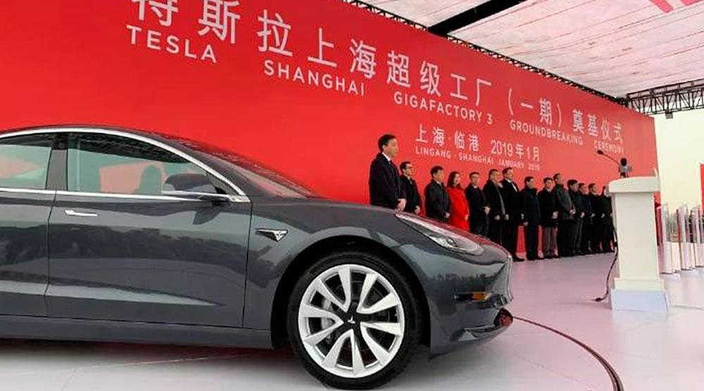 Será que a Tesla irá importar para a Europa o Model 3 feito na ...
