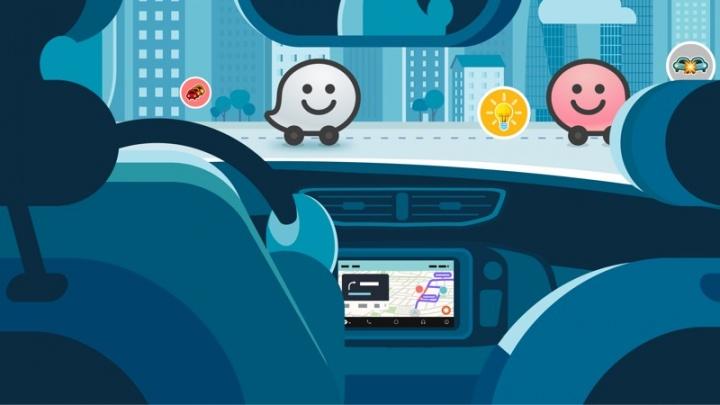 pagar Waze viagem partilhar destino contactos app portagens Android iOS Google Maps