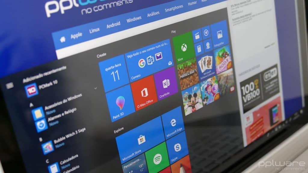 Windows 10 atualização Menu Iniciar problemas Microsoft