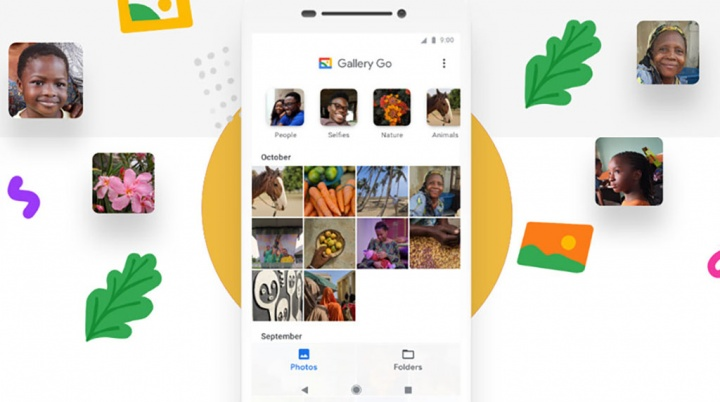 Google Fotos Gallery Go Android app