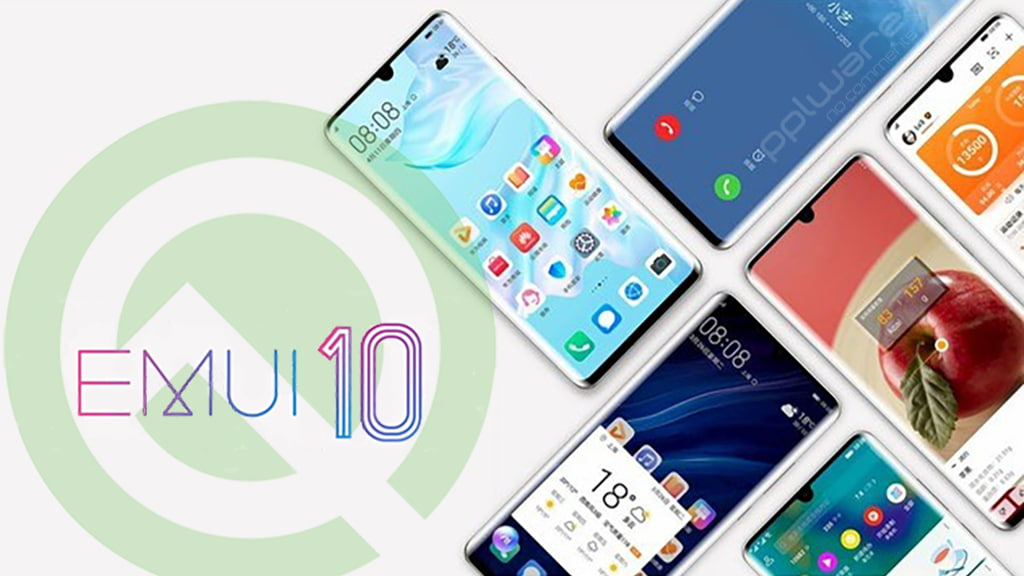 Android Q Google EMUI 10 Huawei smartphone