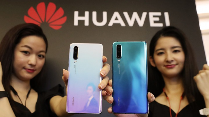 smartphones Android crescimento Huawei 2019