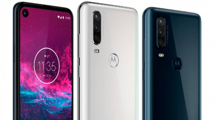 Motorola One Action smartphone Android One Brasil