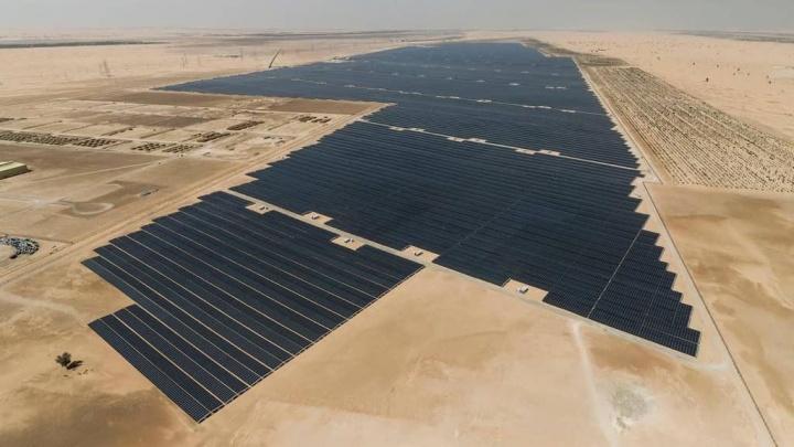 "Emirados Árabes Unidos central solar planeta energia"" width="