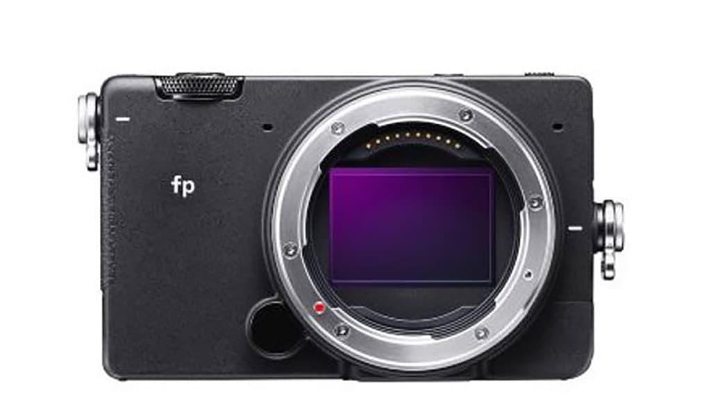 Sigma fp câmara fotográfica full-frame