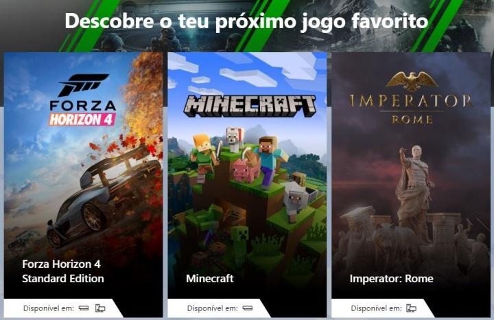 Xbox Game Pass com novas funcionalidades e novos jogos