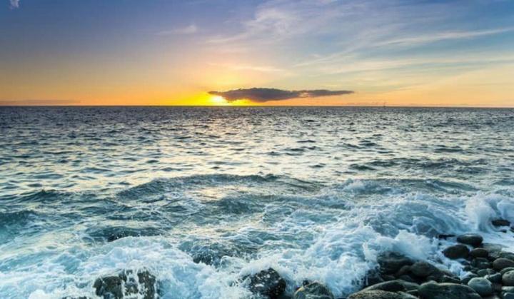 Imagem Oceano Atlântico que esconde água doce