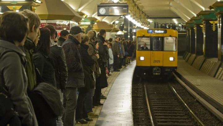 Imagem do metro de Berlim