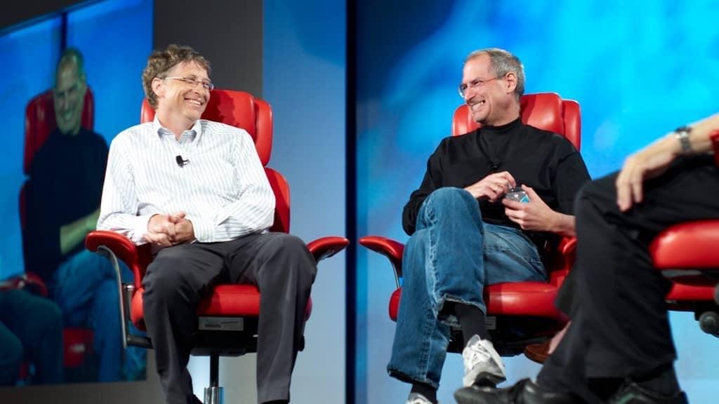 "1b82d3e8f5a Bill Gates: Steve Jobs ""lançava feitiços"" para impedir a Apple de morrer"