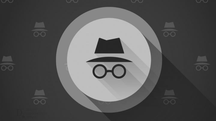 Navegação Anónima Chrome Google browser