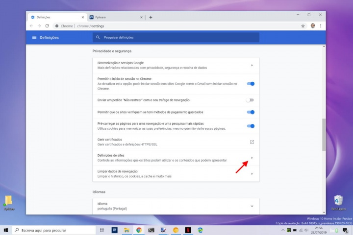 Chrome Google PDF descarregar browser