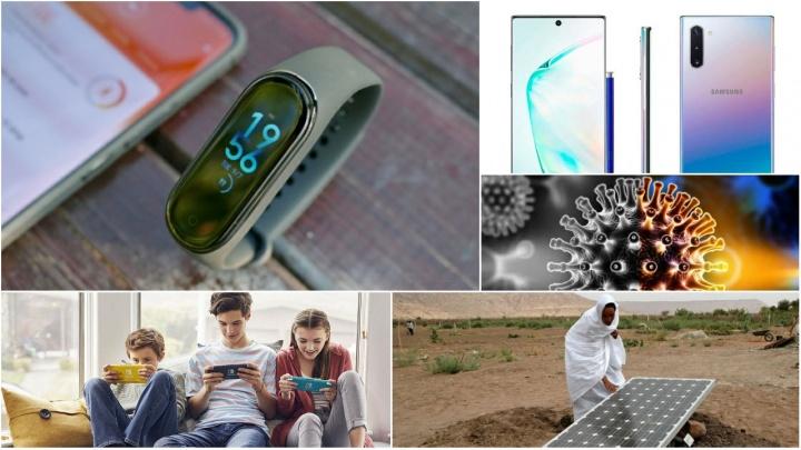 E os destaques tecnológicos da semana que passou foram... Xiaomi Mi Band 4, Huawei, Nintendo, Samsung
