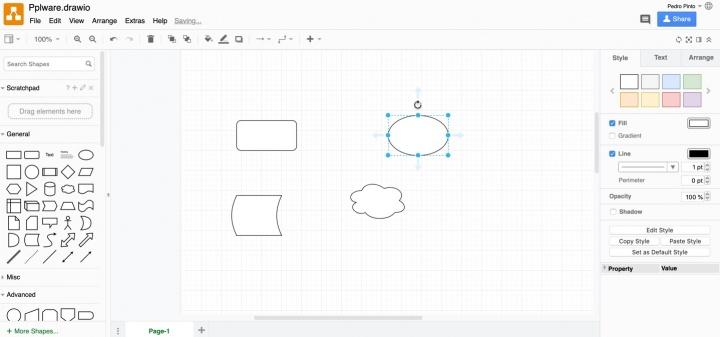 draw.io: Crie os seus diagramas usando apenas o browser