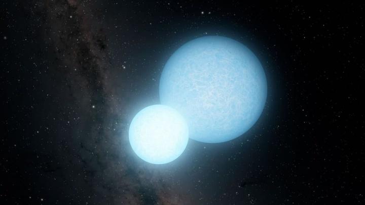 Encontradas duas estrelas mortas que se orbitam em minutos