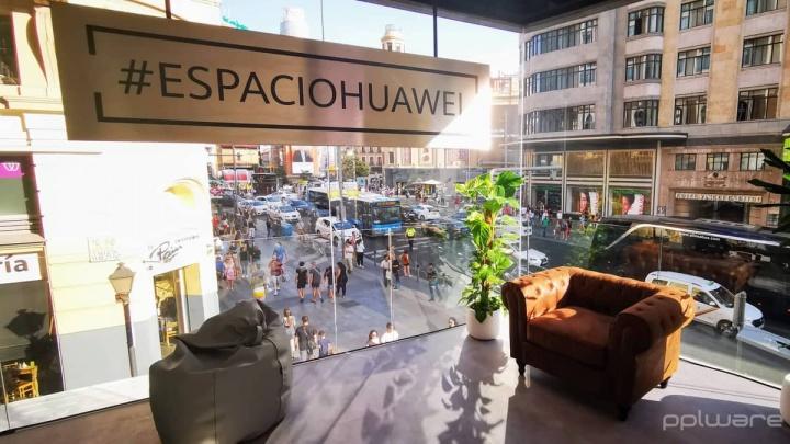 Huawei loja Madrid smartphones