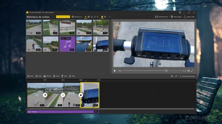 Precisa de editar vídeo? Experimente o software Icecream Video Editor, é gratuito