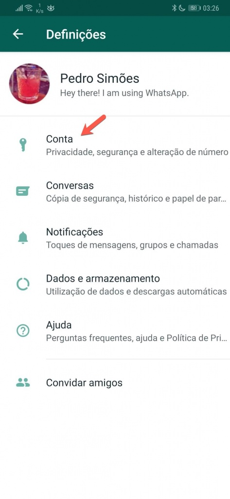WhatsApp imagem perfil privacidade